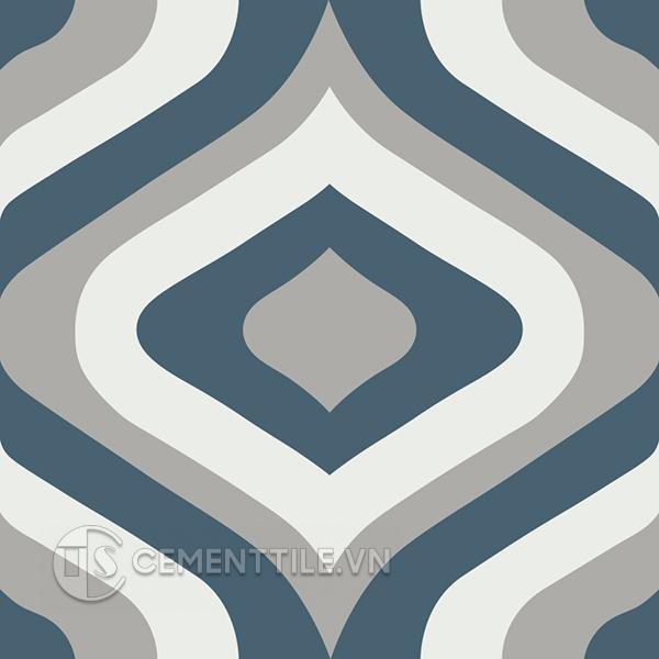 Gạch bông CTS 130.1(1-4-9) - Encaustic cement tile CTS 130.1(1-4-9)
