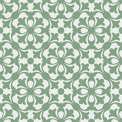 Gạch bông CTS 20.6(4-7)-16 viên - Encaustic cement tile CTS 20.6(4-7)-16 tiles