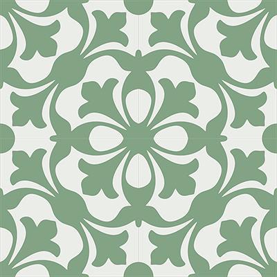 Gạch bông CTS 20.6(4-7)-4 viên - Encaustic cement tile CTS 20.6(4-7)-4 tiles