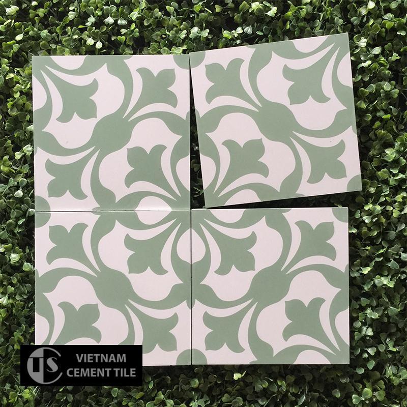 Gạch bông CTS 20.6(4-7) - Encaustic cement tile CTS 20.6(4-7)