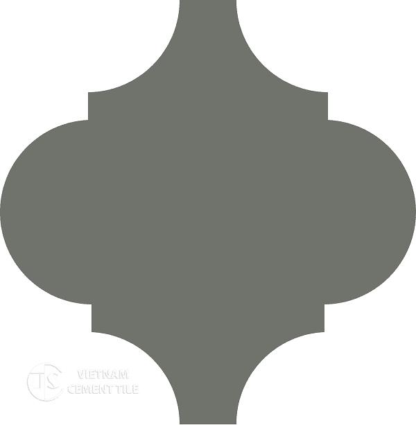 Gạch bông lồng đèn 604 - Encaustice lantern tile CTS 604