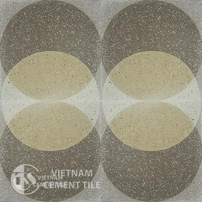 Encaustice Terrazzo tile CTS-Gạch bông Terrazzo
