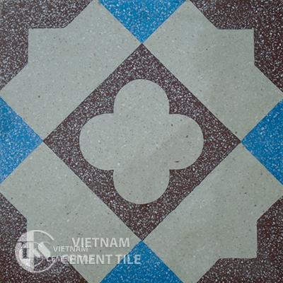 Encaustice Terrazzo tile CTS 108.1 - 1 tile