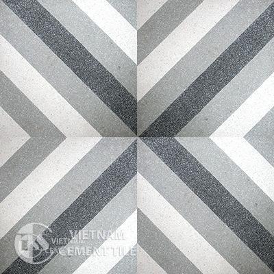 Encaustice Terrazzo tile CTS T25.1 - 4 tiles