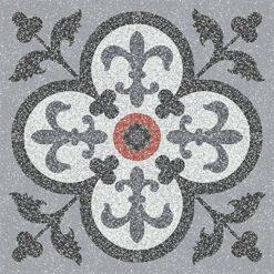 Gạch bông CTS TE-15.1(4-5-9-13-32) - 4 viên - Encaustic cement tile CTS TE-15.1(4-5-9-13-32) - 4 tiles