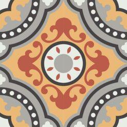 Gạch bông CTS 112.1(4-5-6-9-13) - 4 viên - Encaustic cement tile CTS 112.1(4-5-6-9-13) - 4 tiles