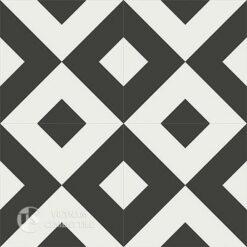 Gạch bông CTS 115.1(4-13)-4 viên - Encaustic cement tile CTS 115.1(4-13)-4tiles