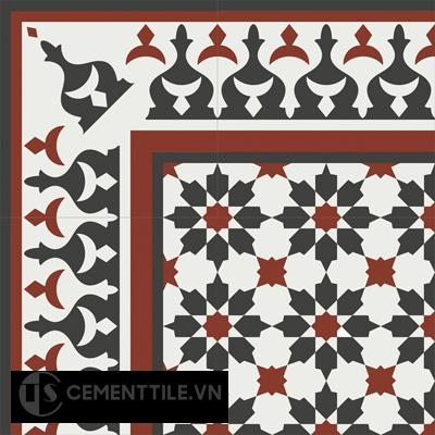 Encaustice cement tile CTS B3.1