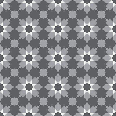 Gạch bông CTS 3.3(4-9-32)- 4 viên - Encaustic cement tile CTS 3.3(4-9-32)-4tiles