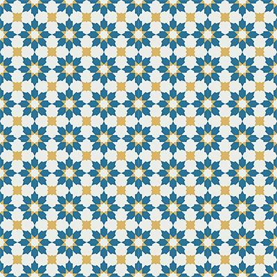 Gạch bông CTS 3.6(4-6-10)- 16 viên - Encaustic cement tile CTS 3.6(4-6-10)-16tiles