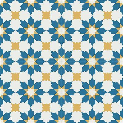Gạch bông CTS 3.6(4-6-10)- 4 viên - Encaustic cement tile CTS 3.6(4-6-10)-4tiles