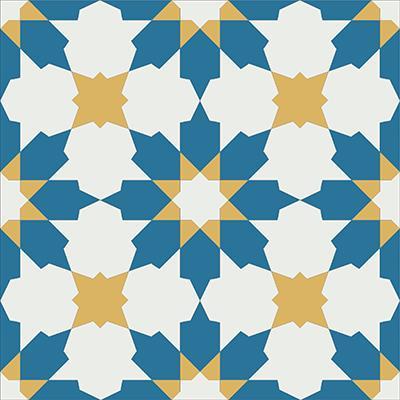 Gạch bông CTS 3.6(4-6-10) - Encaustic cement tile CTS 3.6(4-6-10)