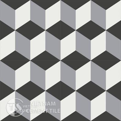 Gạch bông CTS 8.5 + Cement tile CTS 8.5