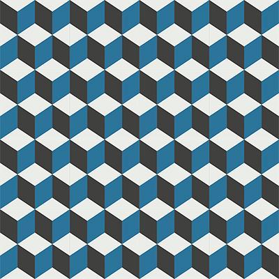 Gạch bông CTS 8.7(4-10-13)-16 viên - Encaustic cement tile CTS 8.7(4-10-13)-16 tiles
