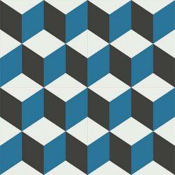 Gạch bông CTS 8.7(4-10-13)-4 viên - Encaustic cement tile CTS 8.7(4-10-13)-4tiles
