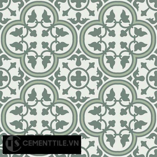 Gạch bông CTS 97.1(4-7-24) - 16 viên - Encaustic cement tile CTS 97.1(4-7-24)-16 tiles