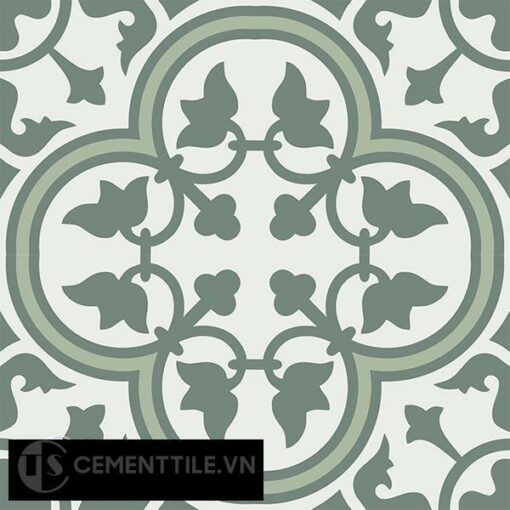 Gạch bông CTS 97.1(4-7-24) - 4 viên - Encaustic cement tile CTS 97.1(4-7-24)-4 tiles