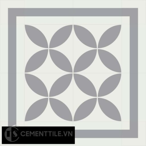 Encaustic cement tile CTS B-C7.10