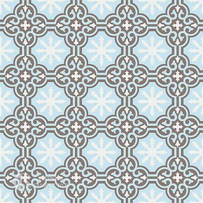 Gạch bông CTS 1.18(2-4-14) - 16 viên - Encaustic cement tile CTS 1.18(2-4-14)-16 tiles