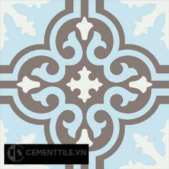Gạch bông CTS 1.18(2-4-14) - Encaustic cement tile CTS 1.18(2-4-14)