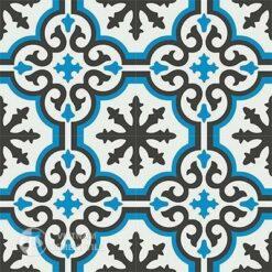 Gạch bông CTS 1.21(4-8-13)-4 viên - Encaustic cement tile CTS 1.17(4-8-13)-4tiles