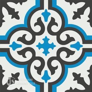 Gạch bông CTS 1.21(4-8-13) - Encaustic cement tile CTS 1.17(4-8-13)