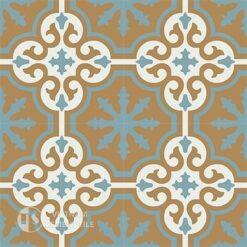 Gạch bông CTS 1.23(4-29-142)-4 viên - Encaustic cement tile CTS 1.23(4-29-142)-4tiles
