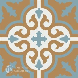 Gạch bông CTS 1.23(4-29-142) - Encaustic cement tile CTS 1.23(4-29-142)