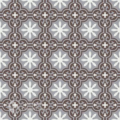 Gạch bông CTS 1.28(4-9-14)-16 viên - Encaustic cement tile CTS 1.28(4-9-14)-16tiles