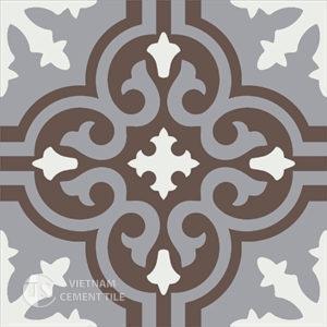 Gạch bông CTS 1.28(4-9-14) - Encaustic cement tile CTS 1.28(4-9-14)
