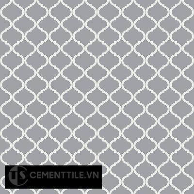 Gạch bông cổ điển CTS 108.3 - 16 viến ( Encaustic cement tile 108.3 - 16 tiles)