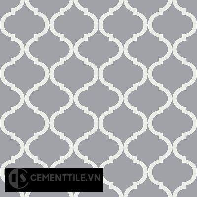 Gạch bông cổ điển CTS 108.3 - 4 viến ( Encaustice cement tile 108.3 - 4 tiles)
