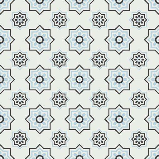 Gạch bông CTS 134.1(2-4-13) - 16 viên - Encaustic cement tile CTS 134.1(2-4-13) - 16 tiles