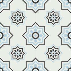 Gạch bông CTS 134.1(2-4-13) - 4 viên - Encaustic cement tile CTS 134.1(2-4-13) - 4 tiles