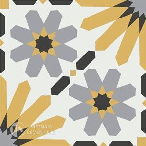 Gạch bông CTS 19.9(4-6-9-13) - Encaustic cement tile CTS 19.9(4-6-9-13)