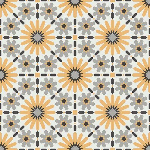 Gạch bông CTS 19.9(4-6-9-13)-16 viên - Encaustic cement tile CTS 19.9(4-6-9-13)-16 tiles