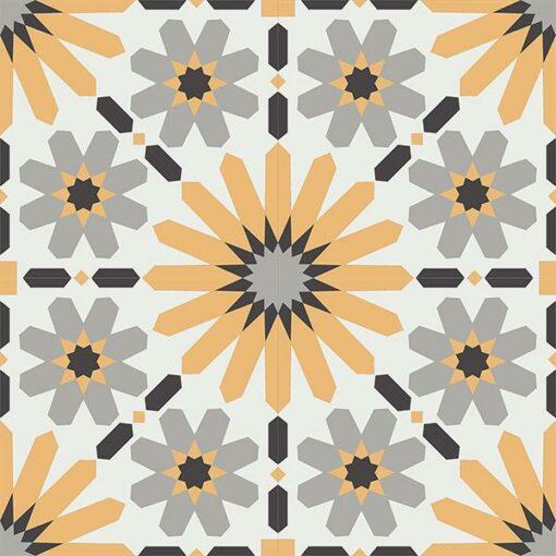 Gạch bông CTS 19.9(4-6-9-13)-4 viên - Encaustic cement tile CTS 19.9(4-6-9-13)-4 tiles