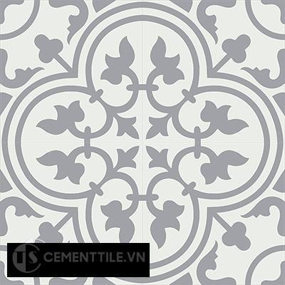 Gạch bông CTS 2.11(4-9)- 4 viên - Encaustic cement tile CTS 2.11(4-9)-4tiles