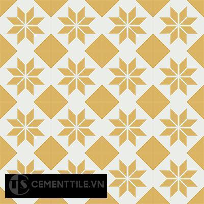 Gạch bông CTS 27.5(4-6) - 16 viên - Encaustic cement tile CTS 27.5(4-6)-16 tiles