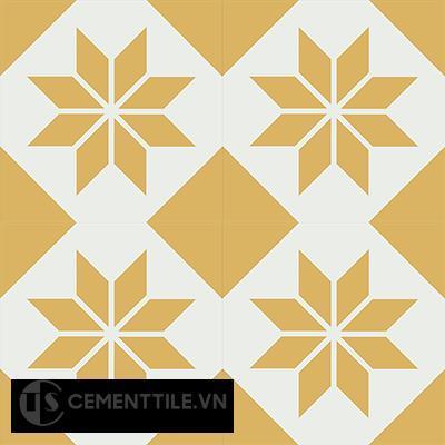 Gạch bông CTS 27.5(4-6) - 4 viên - Encaustic cement tile CTS 27.5(4-6)-4 tiles