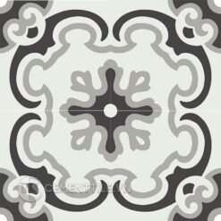 Gạch bông CTS 5.13(4-9-13) - Encaustic cement tile CTS 5.13(4-9-13) - 4 tiles