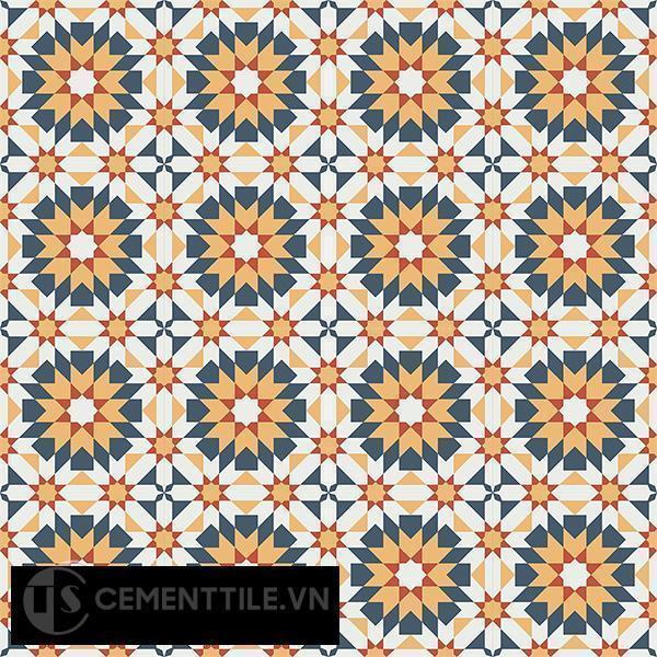 Gạch bông CTS 56.3(3-4-5-6) - 16 viên - Encaustic cement tile CTS 56.3(3-4-5-6)-16 tiles
