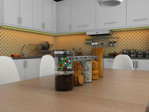 Gạch bông cts 6.13 ốp tường nhà bếp