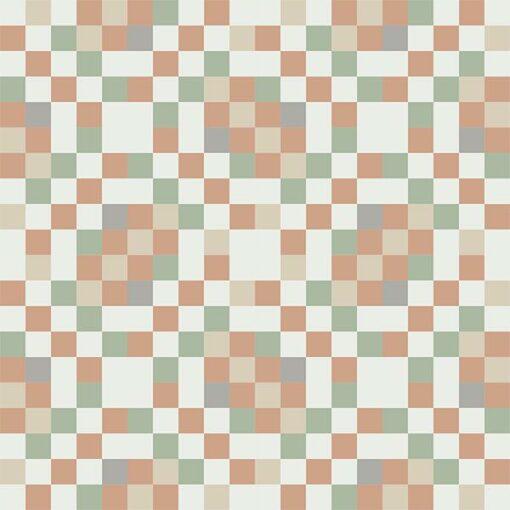 Gạch bông CTS 81.3(4-7-9-11-12) - 16 viên - Encaustic cement tile CTS 81.3(4-7-9-11-12)- 16 tiles
