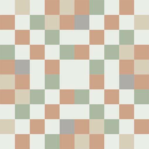 Gạch bông CTS 81.3(4-7-9-11-12) - 4 viên - Encaustic cement tile CTS 81.3(4-7-9-11-12)-4 tiles