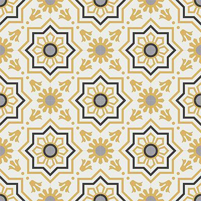 Gạch bông CTS 113.4(4-6-9-13) - 16 viên - Encaustic cement tile CTS 113.4(4-6-9-13) - 16 tiles