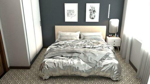 Gạch bông cts 77.1 trang trí phòng ngủ