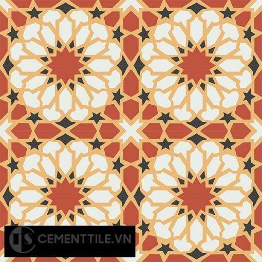 Gạch bông CTS 79.1(4-5-6-13) - 16 viên - Encaustic cement tile CTS 79.1(4-5-6-13)-16 tiles