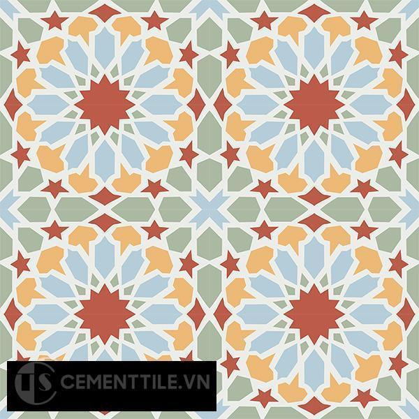 Gạch bông CTS 79.2(4-5-6-7) - 16 viên - Encaustic cement tile CTS 79.2(4-5-6-7)-16 tiles