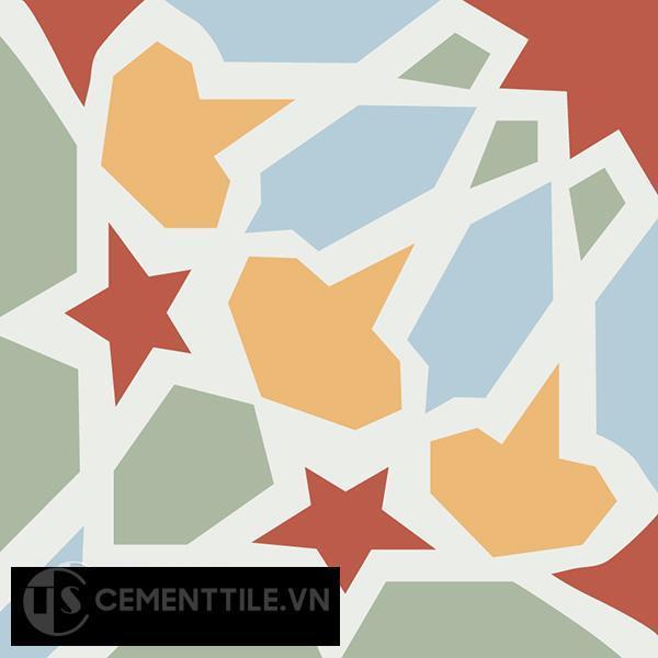 Gạch bông CTS 79.2(4-5-6-7) - Encaustic cement tile CTS 79.2(4-5-6-7)